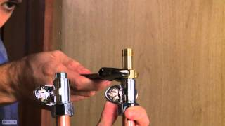 Step 4 - How to Install a Pull-Out Faucet Featuring Touch20® Technology
