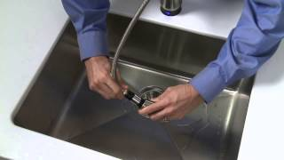 Step 5 - How to Install a Pull-Out Faucet Featuring Touch20® Technology