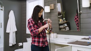 How to Install a Delta® Broadmoor™ Pulldown Bathroom Sink Faucet