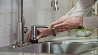 How to Install a Delta® Hands-Free Electronic Soap Dispenser