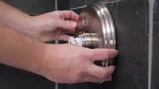 How to Install a Delta Shower Trim with Temp2O Technology